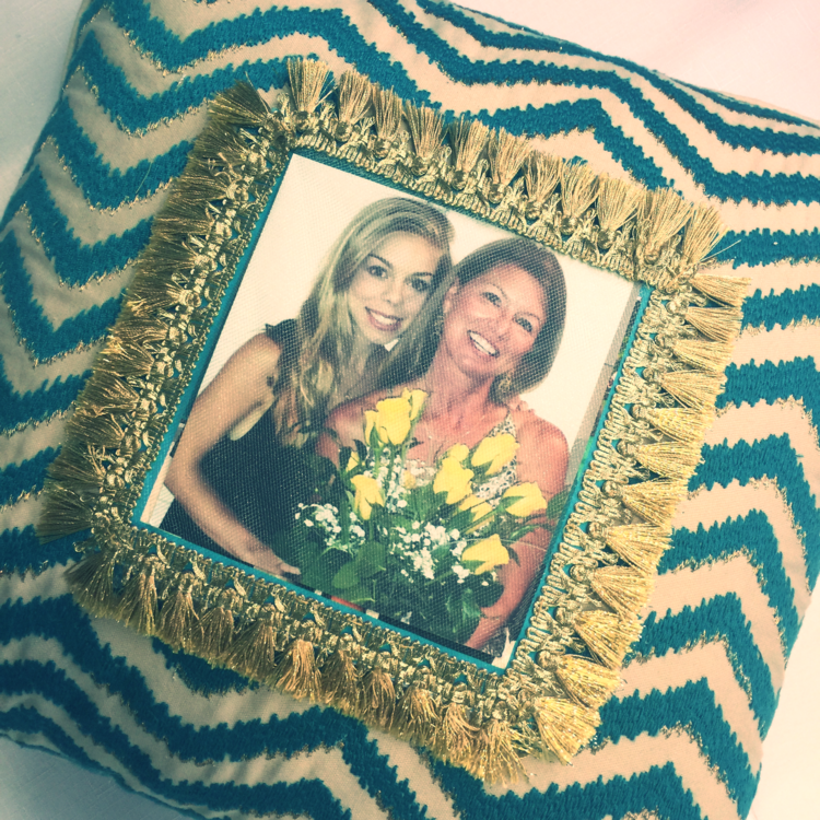 DIY Photo Pillow