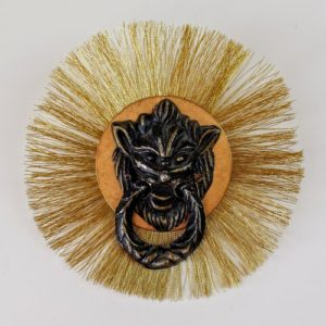 Proud Lion Brooch