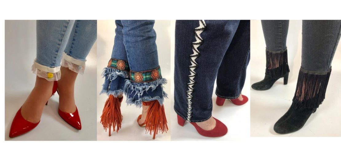 Denim Embellishment DIY Trend